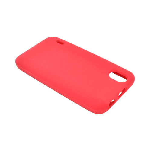 LG Marquee LS855 Silicone Case - Red