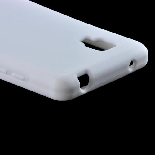 Silicone Case White for LG Optimus G Sprint