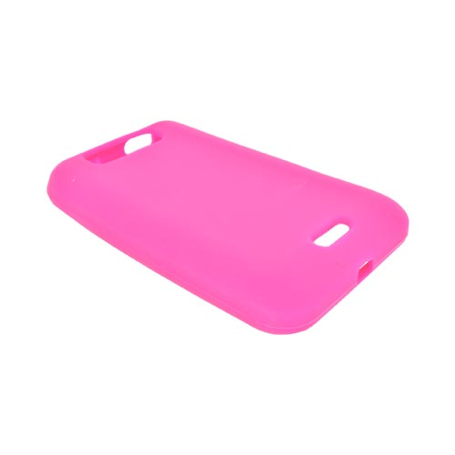 LG Viper 4G LTE, LG Connect 4G Silicone Case - Hot Pink