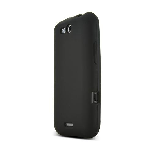 LG Viper 4G LTE/ LG Connect 4G Silicone Case - Black