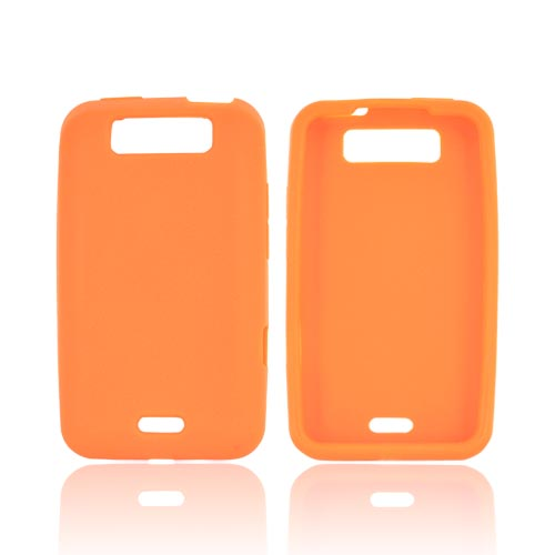 LG Viper 4G LTE/ LG Connect 4G Silicone Case - Orange