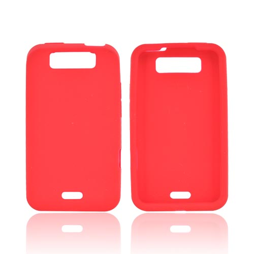 LG Viper 4G LTE/ LG Connect 4G Silicone Case - Red