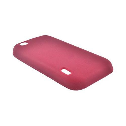T-Mobile MyTouch Silicone Case - Maroon