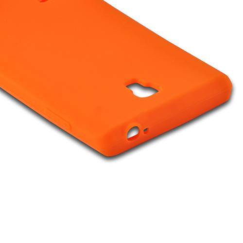 Orange Silicone Case for LG Optimus L9