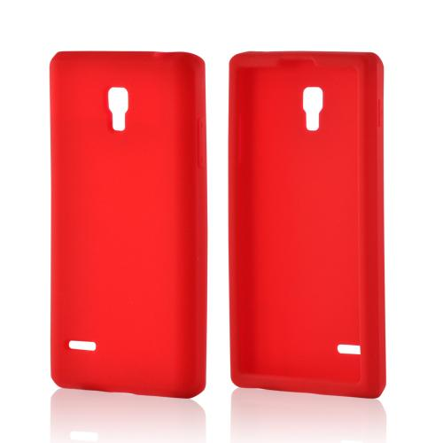 Red Silicone Case for LG Optimus L9