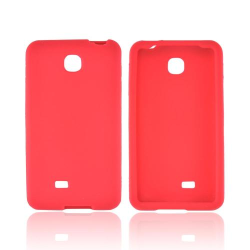 LG Escape Silicone Case - Red