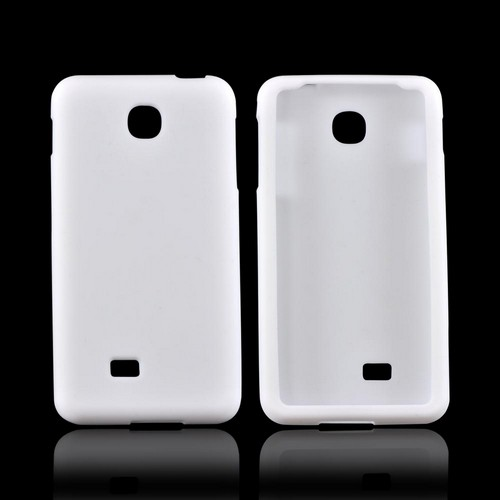 LG Escape Silicone Case - White