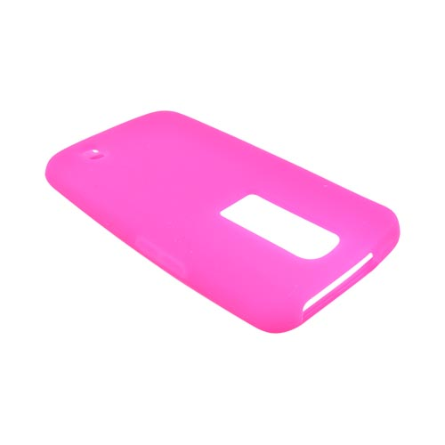 LG Nitro HD Silicone Case - Hot Pink