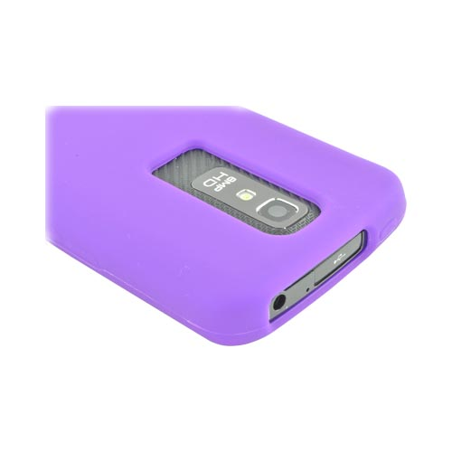 LG Nitro HD Silicone Case - Purple