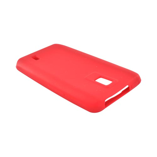 LG Spectrum Silicone Case - Red