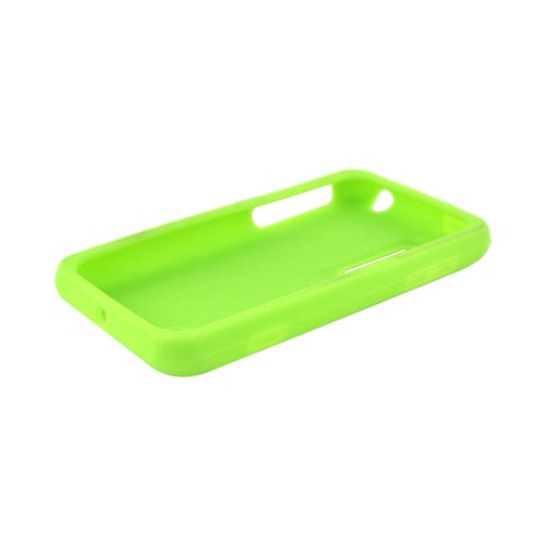 LG Thrill 4G Silicone Case - Neon Green
