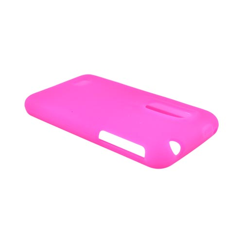 LG Thrill 4G Silicone Case - Hot Pink