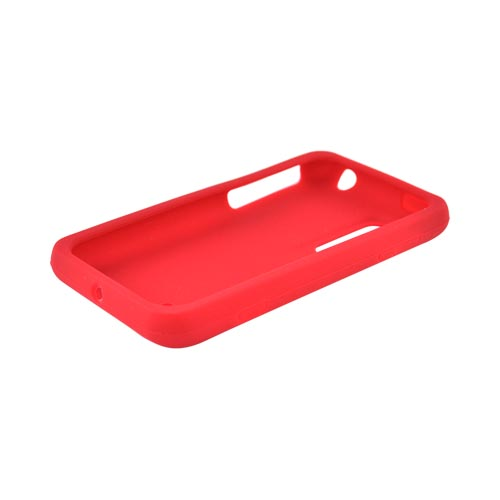 LG Thrill 4G Silicone Case - Red