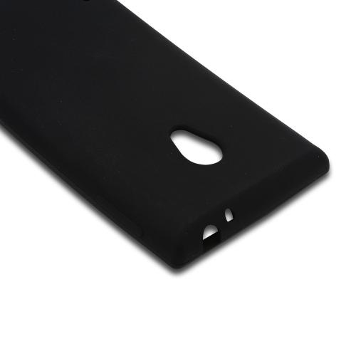 Black Silicone Case for LG Lucid 2