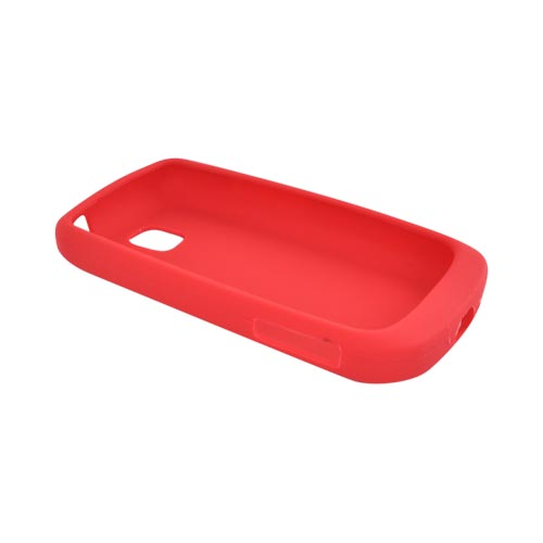 LG Vortex Rubber Skin, Silicone Case - Red
