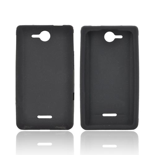 LG Lucid VS840 Silicone Case - Black