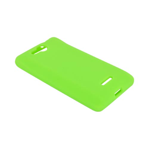 LG Lucid VS840 Silicone Case - Neon Green