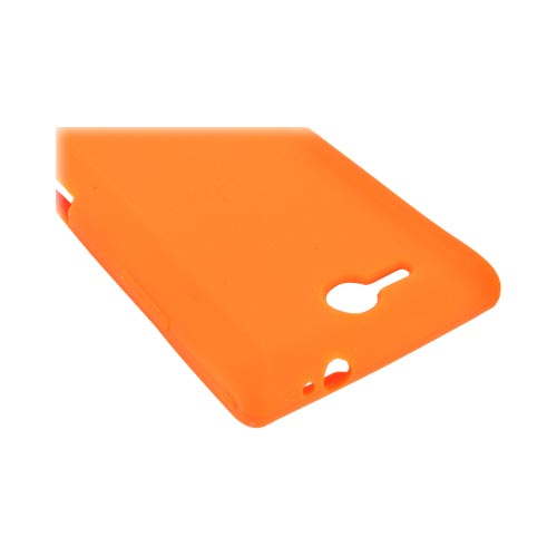 LG Lucid 4G Silicone Case - Orange