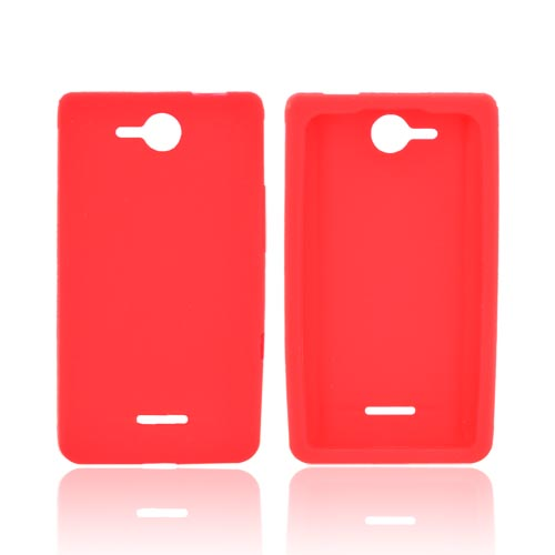 LG Lucid 4G Silicone Case - Red