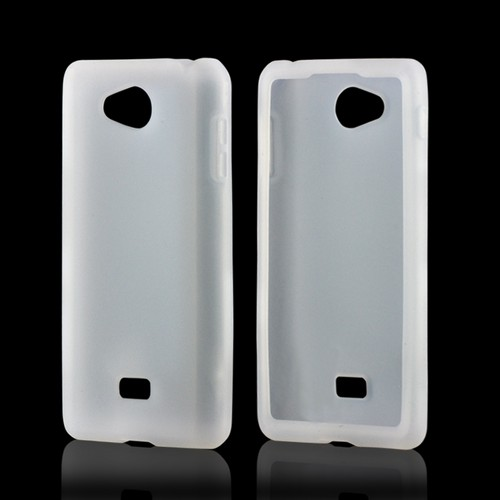 White Silicone Case for LG Spirit 4G