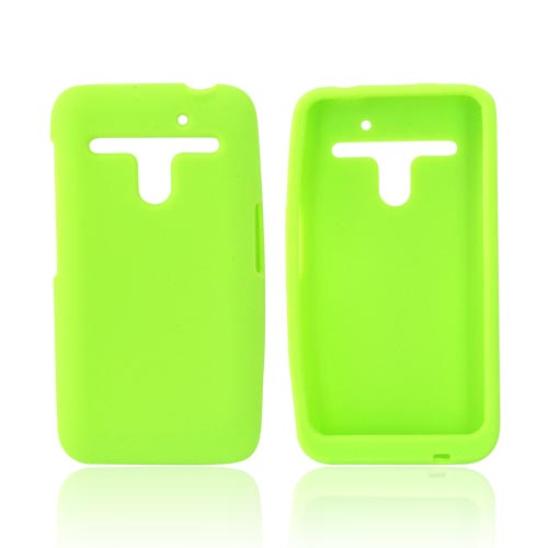 LG Revolution, LG Esteem Silicone Case - Neon Green