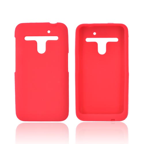 LG Revolution, LG Esteem Silicone Case - Red