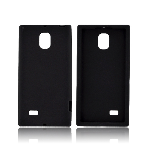 LG Optimus VS930 (Optimus LTE II) Silicone Case - Black