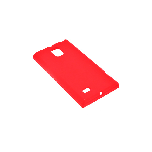 LG Optimus VS930 (Optimus LTE II) Silicone Case - Red