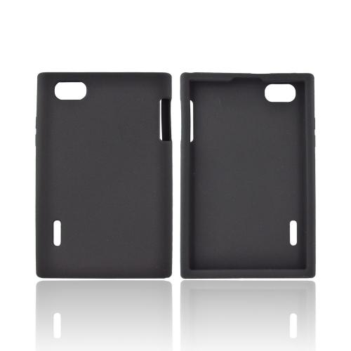 LG Optimus Vu VS950 Silicone Case - Black