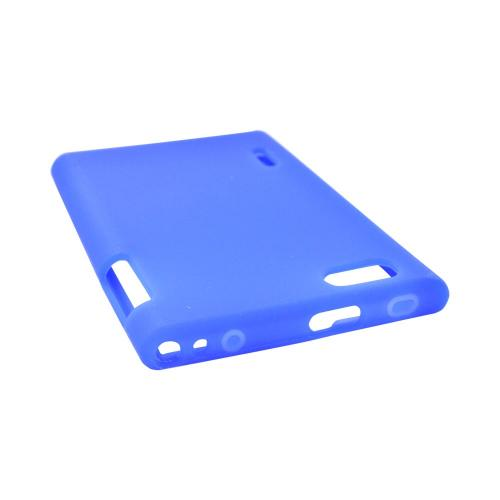 LG Optimus Vu VS950 Silicone Case - Blue