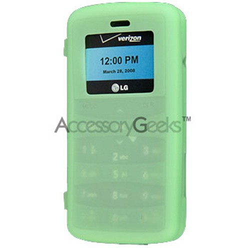 LG Env 2 silicone case, rubber skin - Green