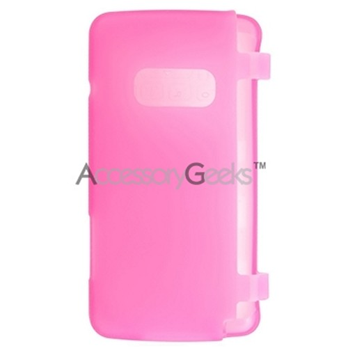 LG Env 2 silicone case, rubber skin - Hot Pink