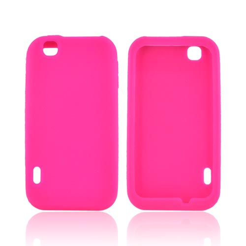 T-Mobile MyTouch Silicone Case - Hot Pink