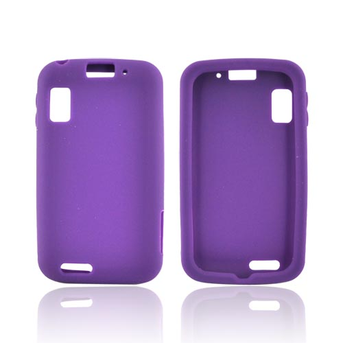 Motorola Atrix MB860 Silicone Case - Purple