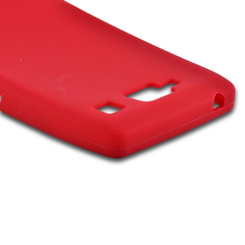 Red Silicone Case for Motorola Droid RAZR MAXX HD