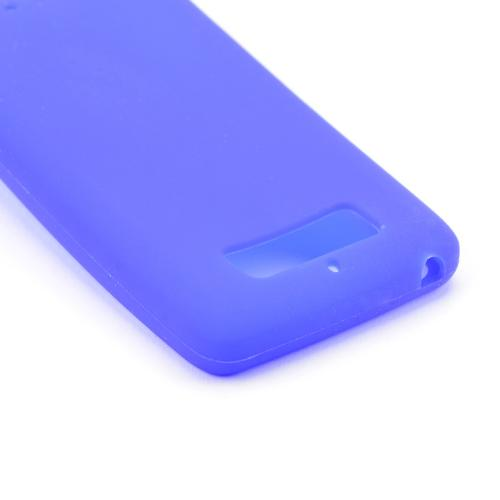 Blue Silicone Skin Case for Motorola Droid Mini