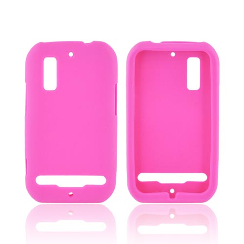 Motorola Photon 4G Silicone Case - Hot Pink