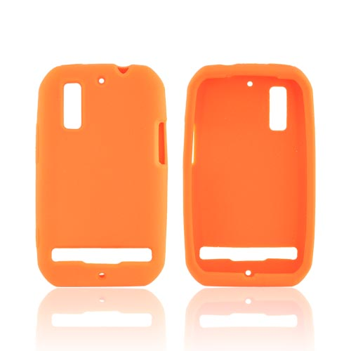 Motorola Photon 4G Silicone Case - Orange