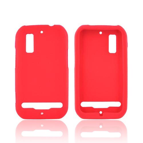 Motorola Photon 4G Silicone Case - Red
