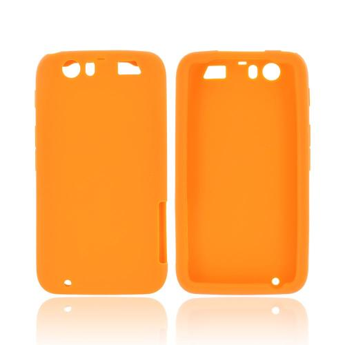 Motorola Atrix HD Silicone Case - Orange