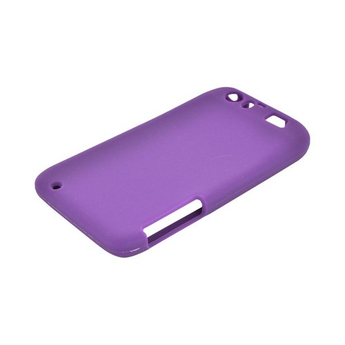 Motorola Atrix HD Silicone Case - Purple