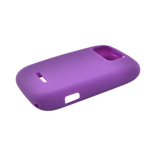 Motorola Citrus WX445 Silicone Case - Purple