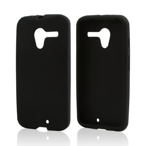 Black Silicone Skin Case for Motorola Moto X(2013 1st Gen)