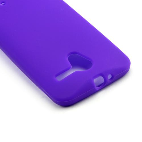 Purple Silicone Skin Case for Motorola Moto X(2013 1st Gen)