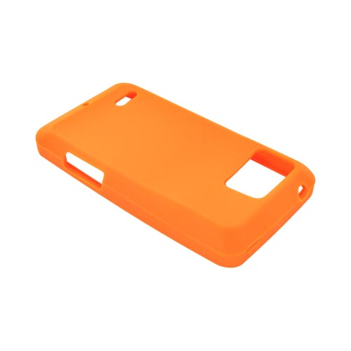 Motorola Droid Bionic XT875 Silicone Case - Orange