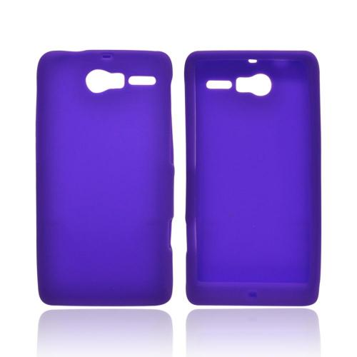 Motorola Droid RAZR M Silicone Case - Purple