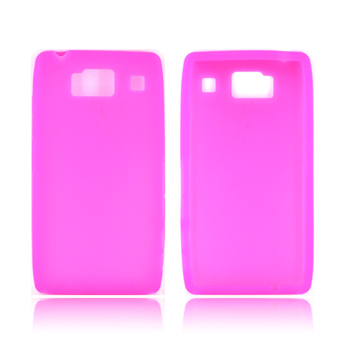 Motorola Droid RAZR HD Silicone Case - Hot Pink