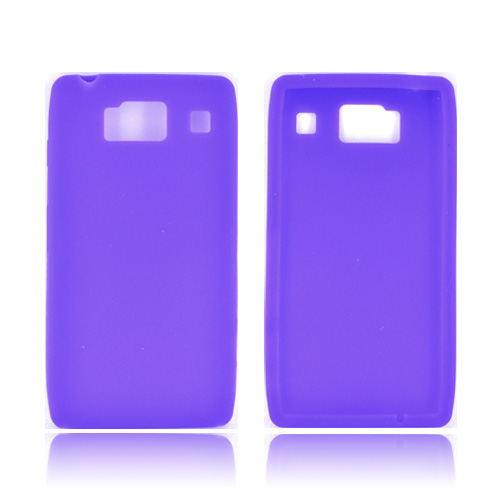 Motorola Droid RAZR HD Silicone Case - Purple