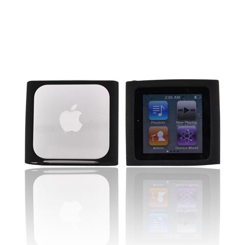 Luxmo Apple iPod Nano 6 Silicone Case - Black