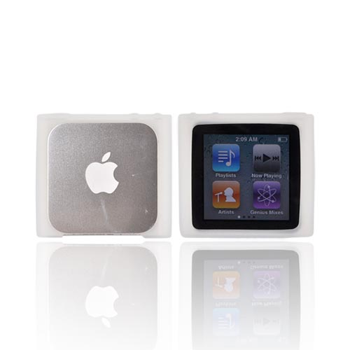 Luxmo Apple iPod Nano 6 Silicone Case - Frost White